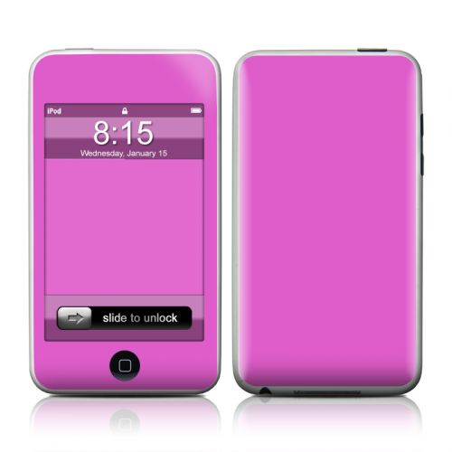Solid State Vibrant Pink iPod touch 2nd Gen or 3rd Gen Skin