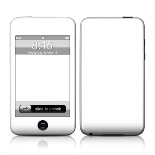Solid State White iPod touch 2nd Gen or 3rd Gen Skin