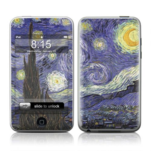 Van Gogh - Starry Night iPod touch 2nd & 3rd Gen Skin
