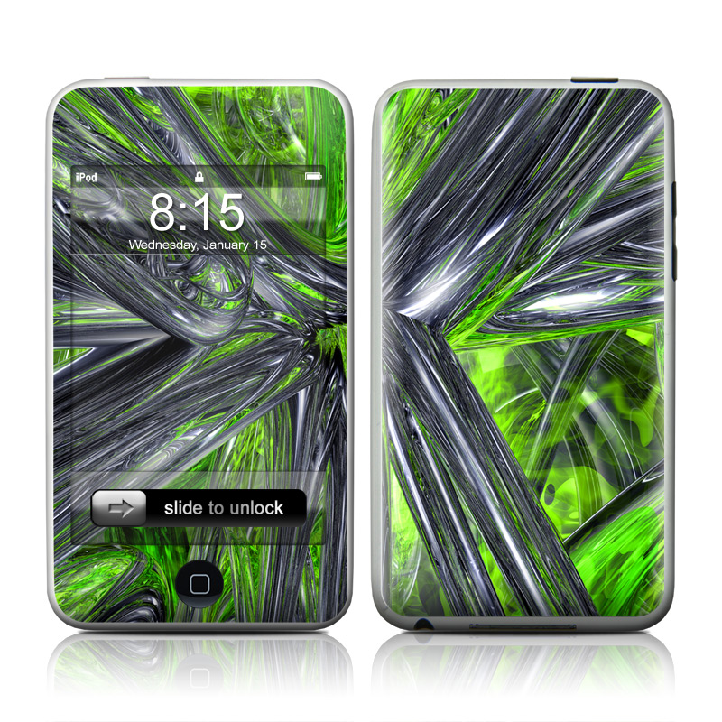 Emerald Abstract iPod touch 2nd & 3rd Gen Skin