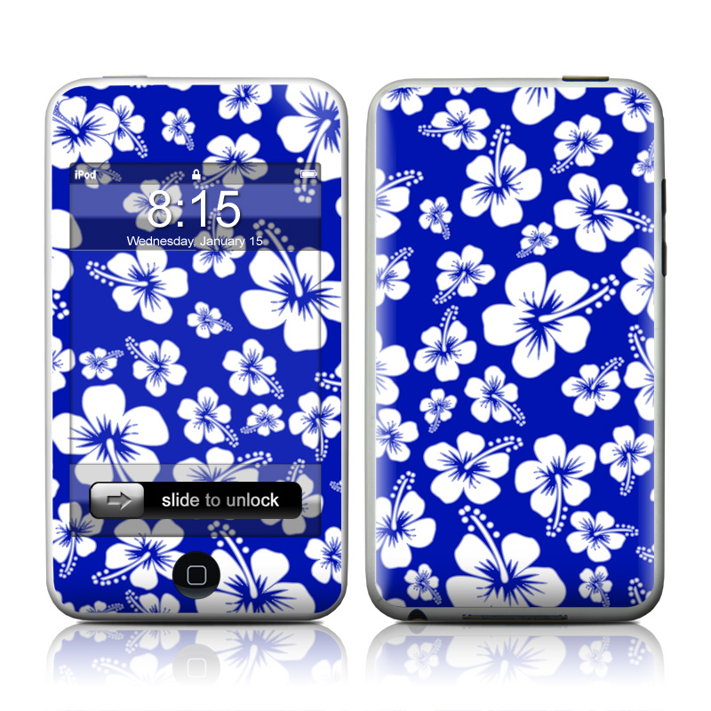Aloha Blue iPod touch 2nd & 3rd Gen Skin