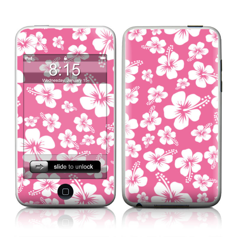 Aloha Pink iPod touch 2nd & 3rd Gen Skin
