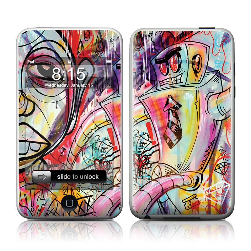 Battery Acid Meltdown iPod touch 2nd & 3rd Gen Skin