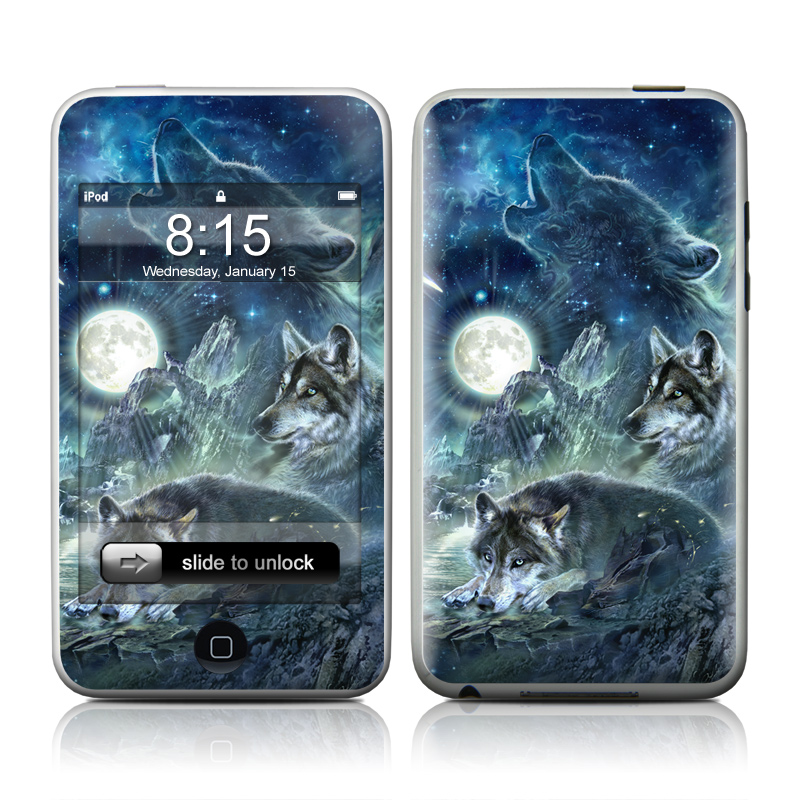 Bark At The Moon iPod touch 2nd & 3rd Gen Skin