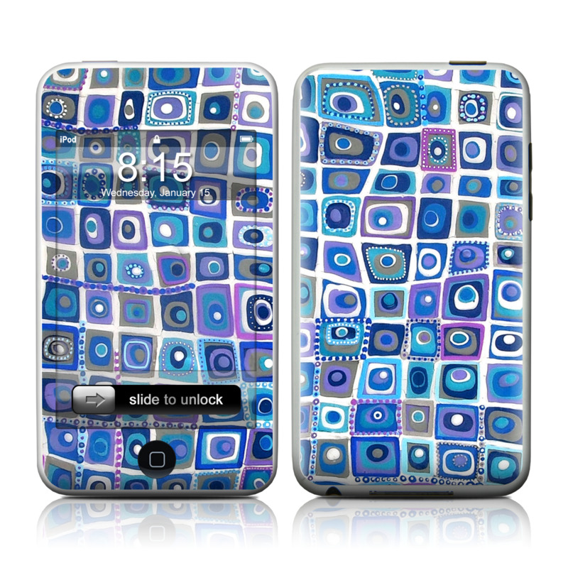 Blue Monday iPod touch 2nd & 3rd Gen Skin