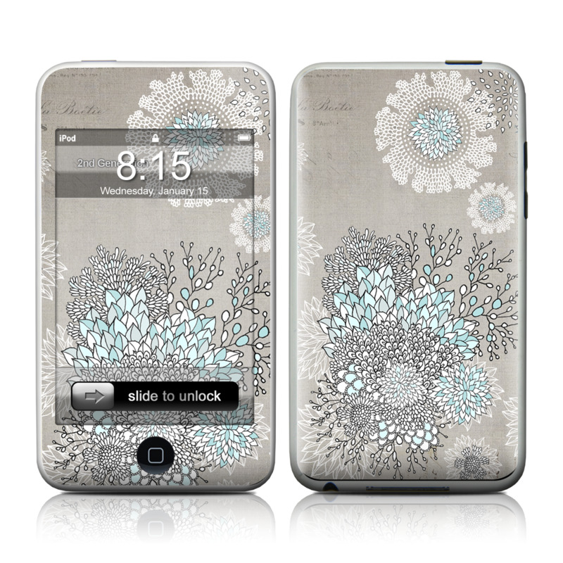 Christmas In Paris iPod touch 2nd & 3rd Gen Skin