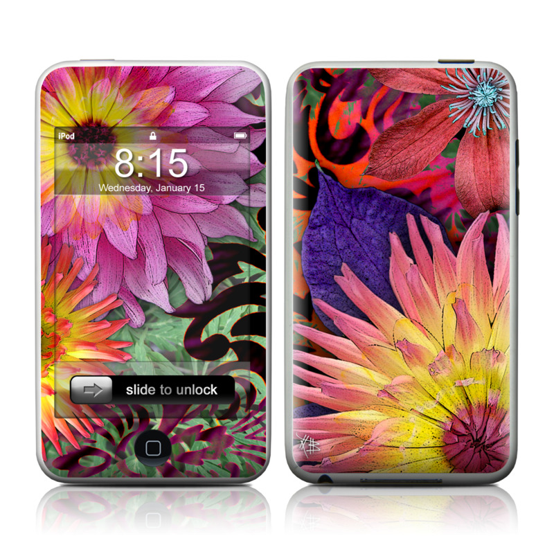 Cosmic Damask iPod touch 2nd Gen or 3rd Gen Skin