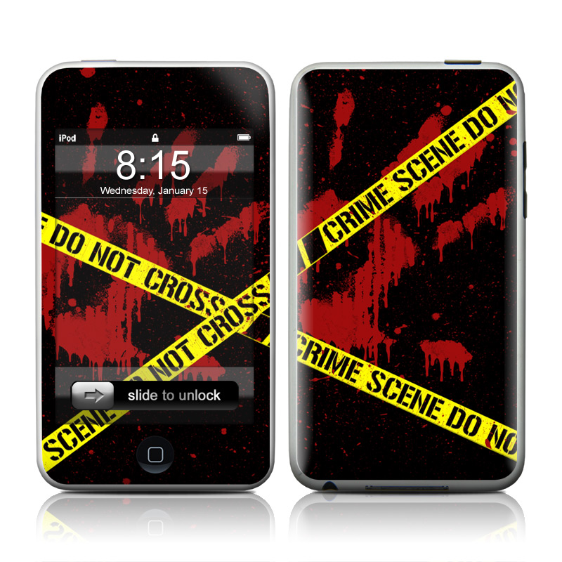 Crime Scene iPod touch 2nd & 3rd Gen Skin