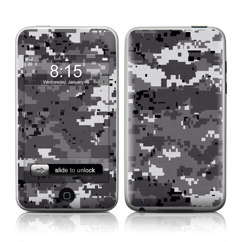 Digital Urban Camo iPod touch 2nd & 3rd Gen Skin