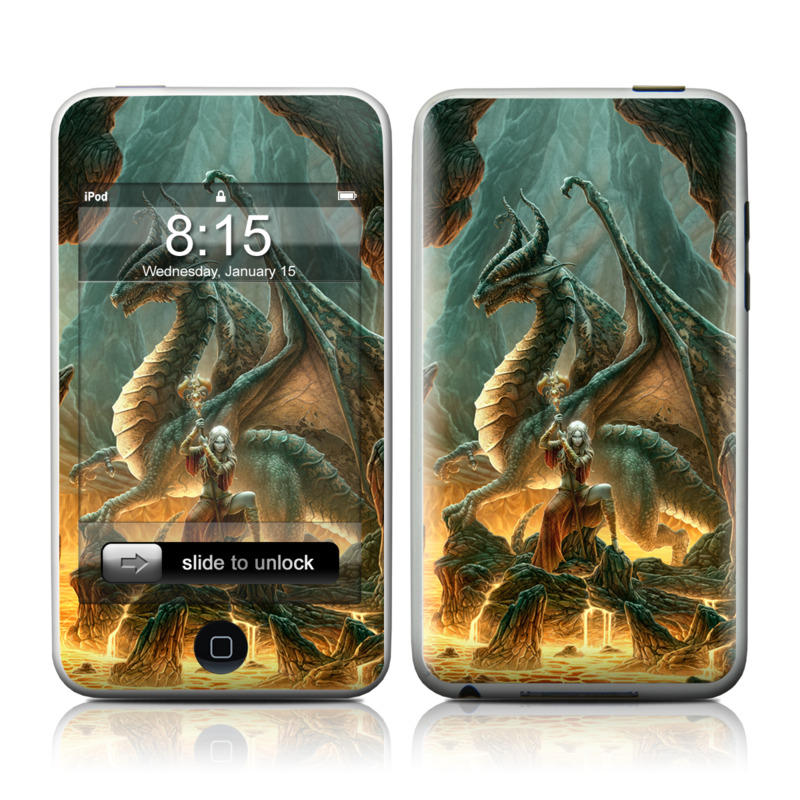 Dragon Mage iPod touch 2nd & 3rd Gen Skin