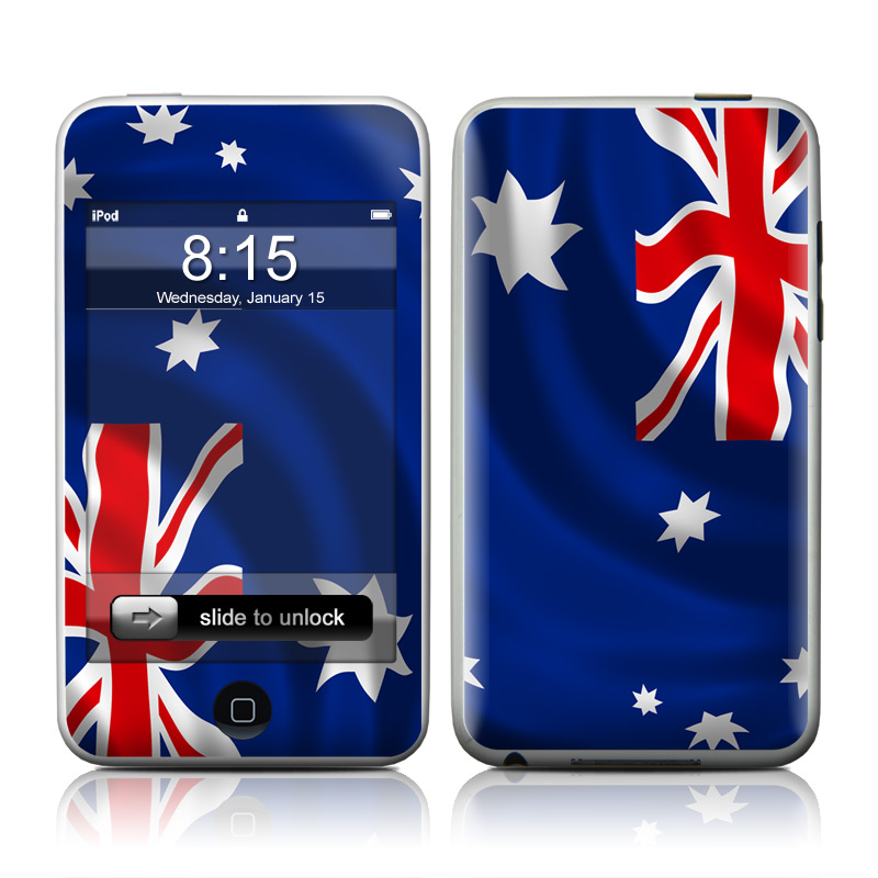 Down Under iPod touch 2nd & 3rd Gen Skin