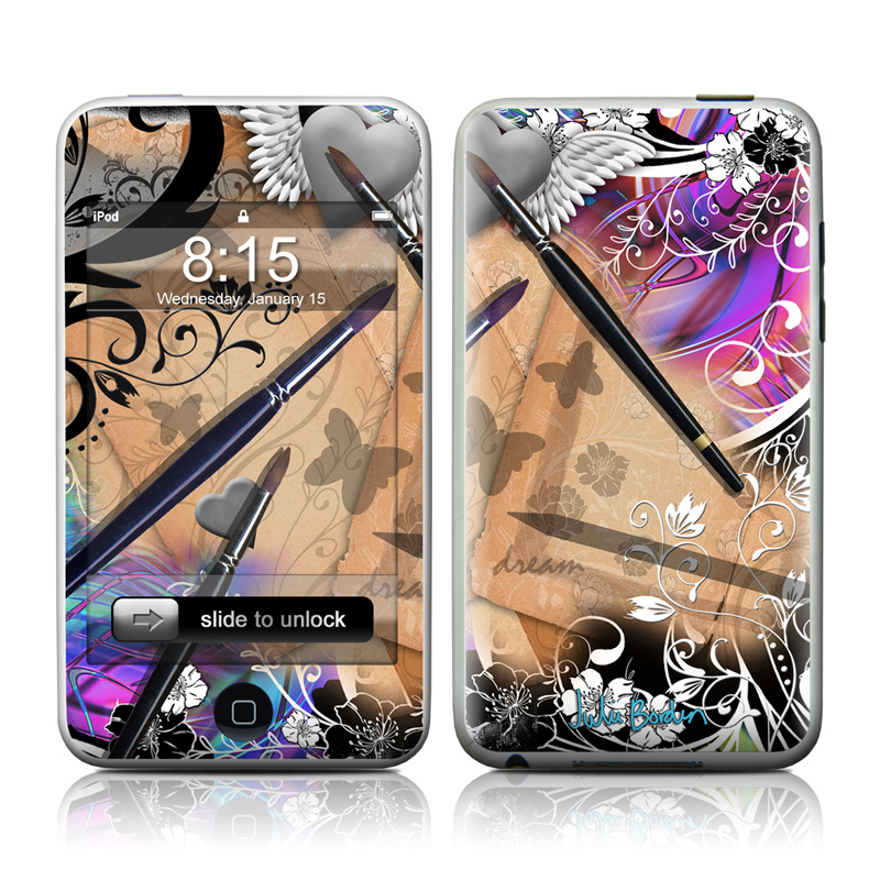 Dream Flowers iPod touch 2nd Gen or 3rd Gen Skin