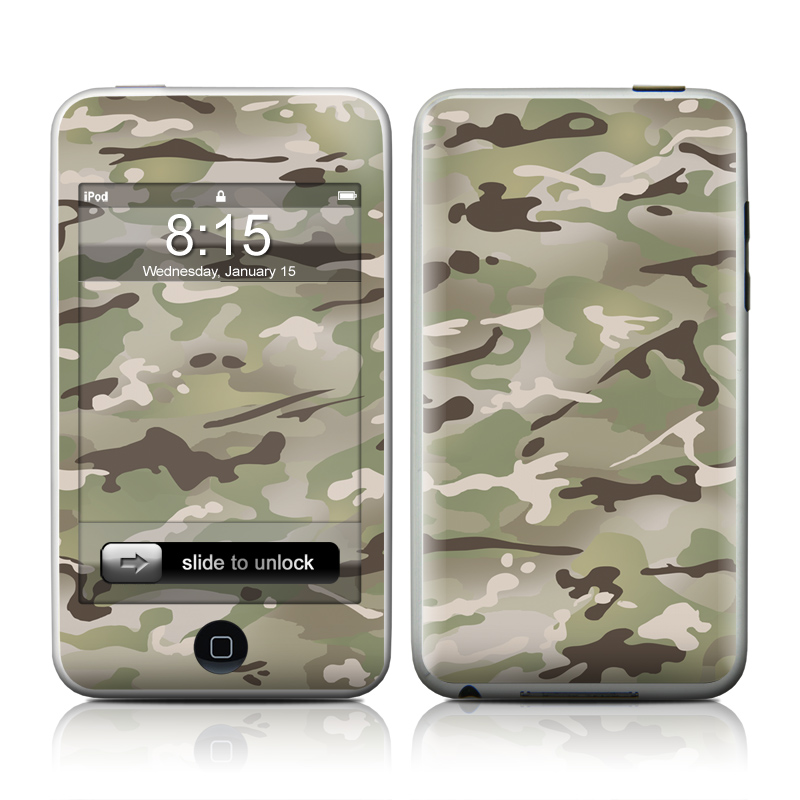 FC Camo iPod touch 2nd & 3rd Gen Skin