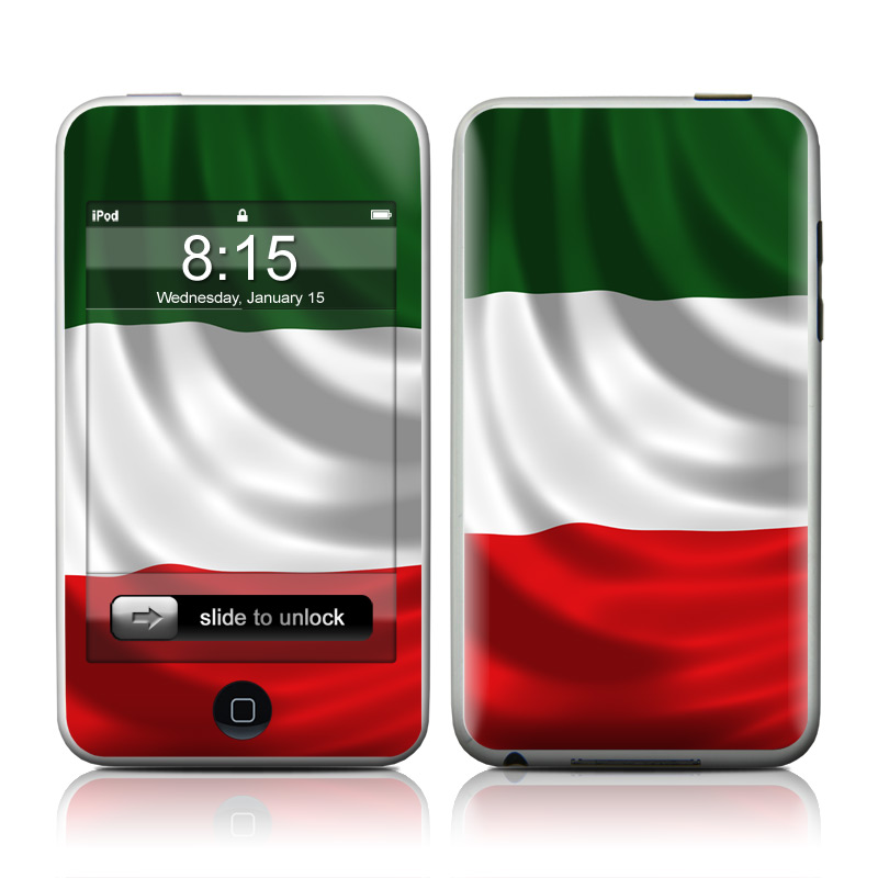 Italian Flag iPod touch 2nd Gen or 3rd Gen Skin