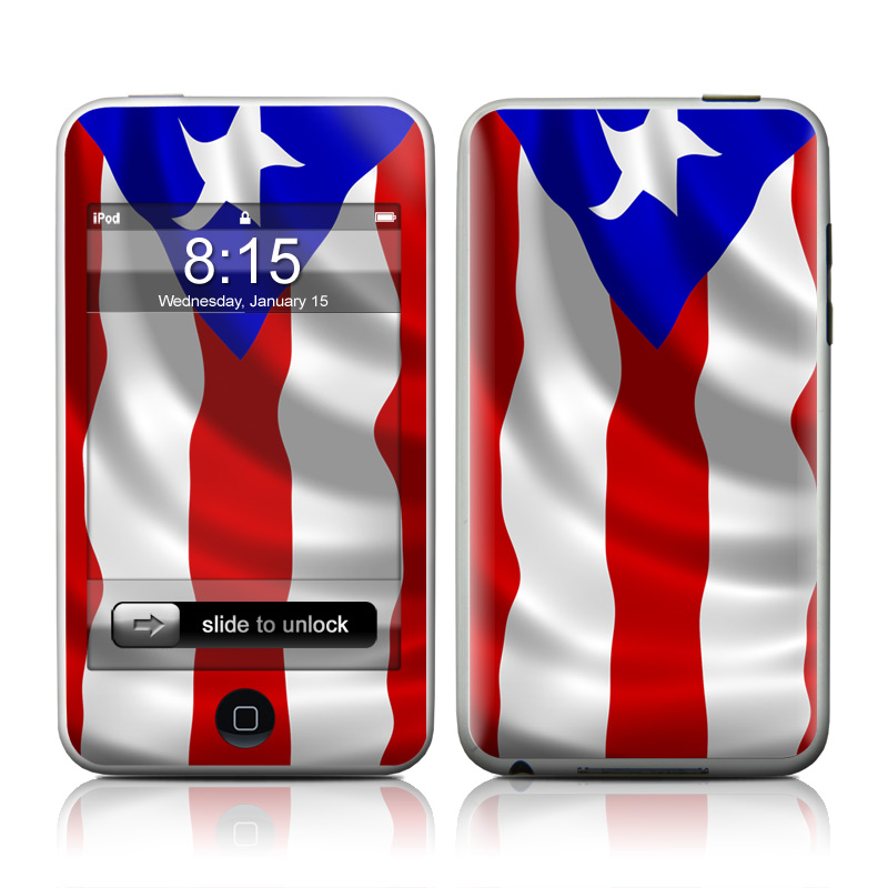 Puerto Rican Flag iPod touch 2nd Gen or 3rd Gen Skin