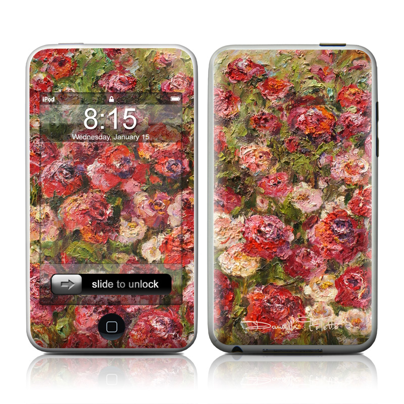 Fleurs Sauvages iPod touch 2nd Gen or 3rd Gen Skin