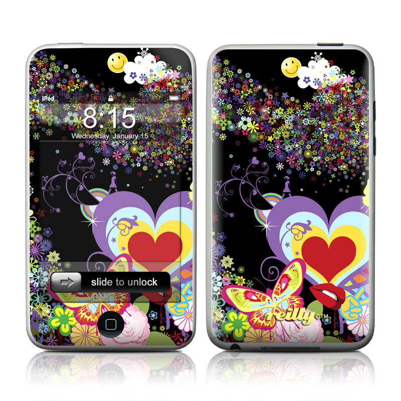 Flower Cloud iPod touch 2nd & 3rd Gen Skin