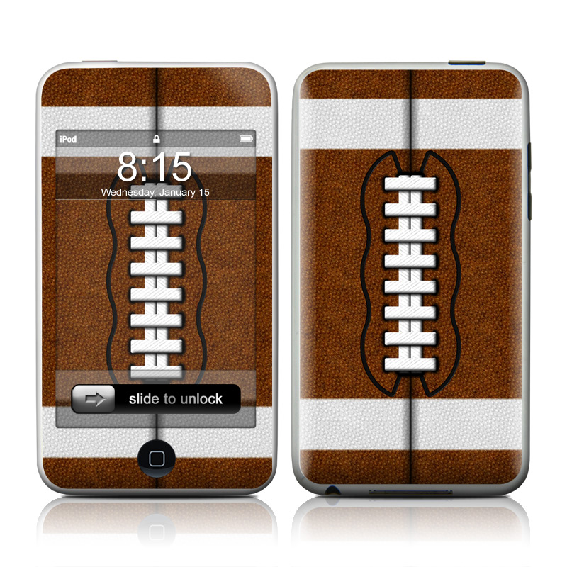 iPod touch 2nd & 3rd Gen Skin design of Brown, Beige, Pattern with black, gray, red, white colors