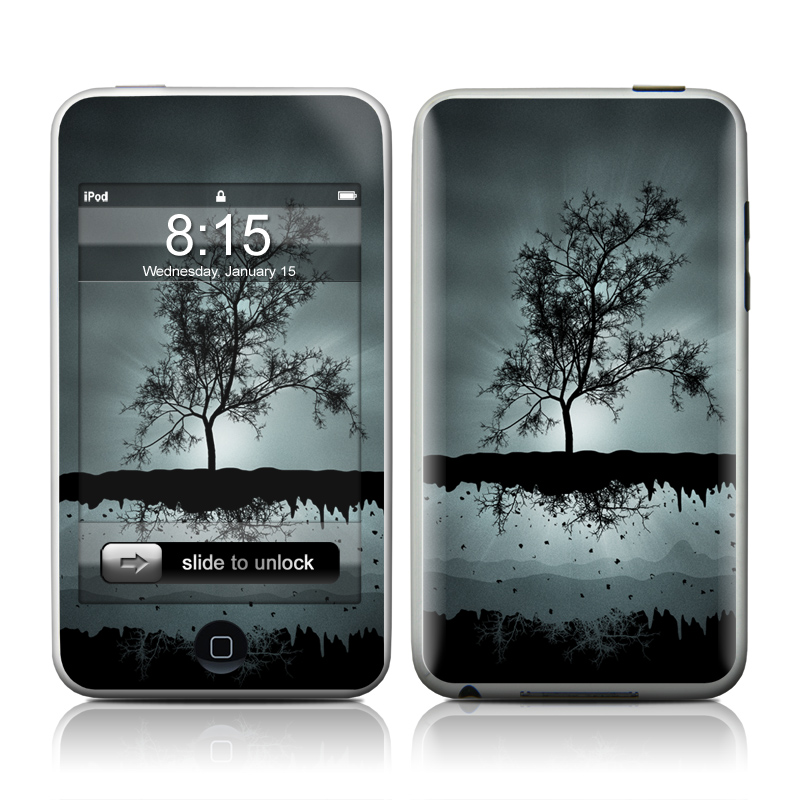 Flying Tree Black iPod touch 2nd Gen or 3rd Gen Skin