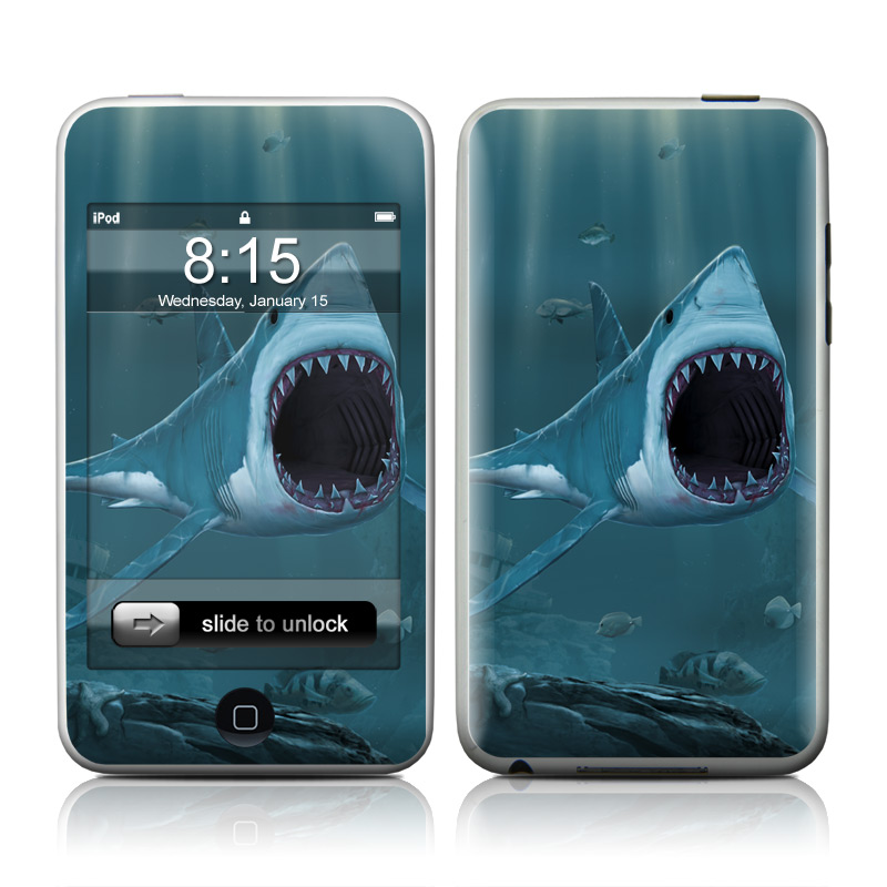 Great White iPod touch 2nd & 3rd Gen Skin
