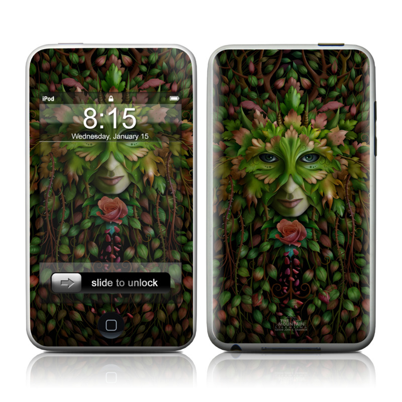 Green Woman iPod touch 2nd & 3rd Gen Skin