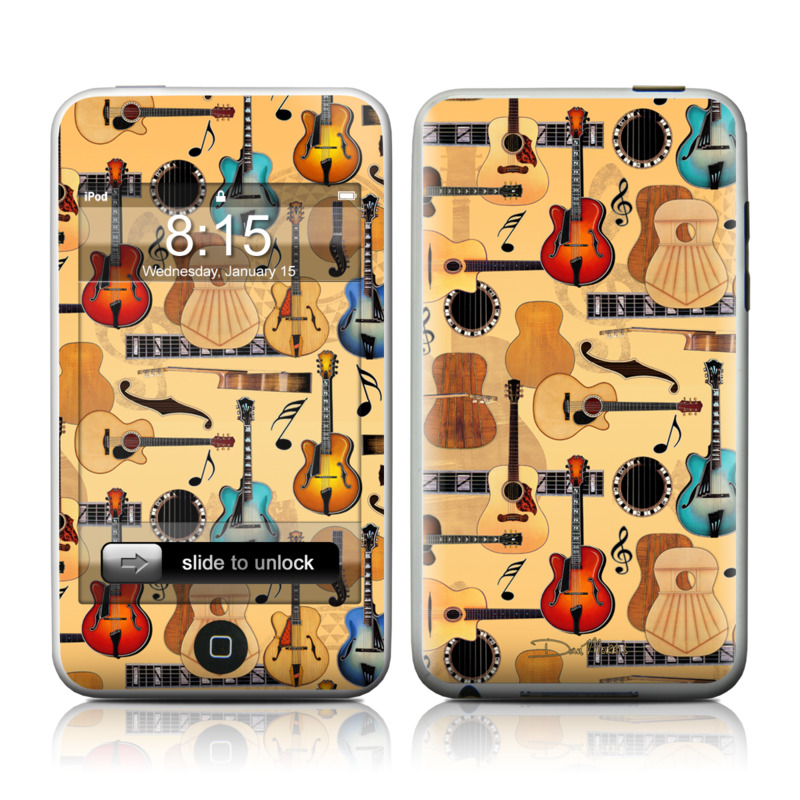 Guitar Collage iPod touch 2nd & 3rd Gen Skin