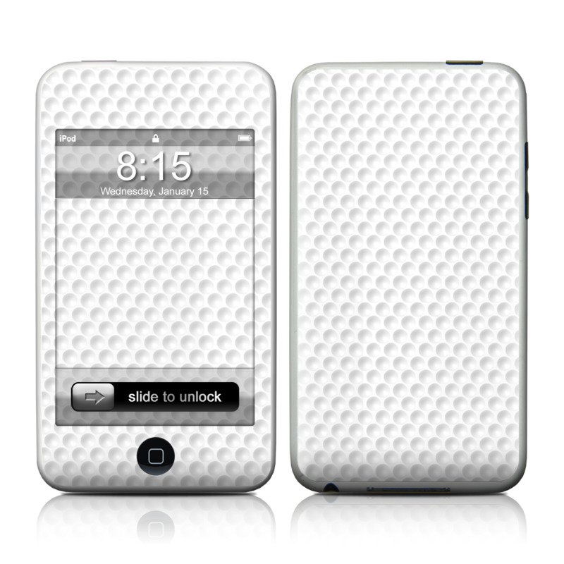 iPod touch 2nd & 3rd Gen Skin design of Pattern, Design, Symmetry, Metal with white, gray colors