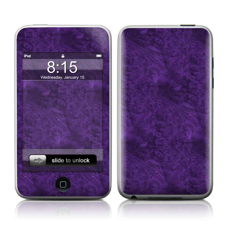 Purple Lacquer iPod touch 2nd & 3rd Gen Skin