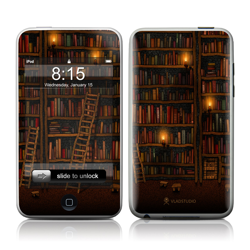 Library iPod touch 2nd Gen or 3rd Gen Skin