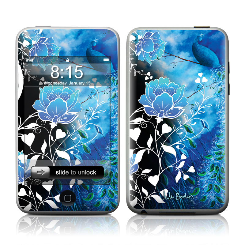 Peacock Sky iPod touch 2nd & 3rd Gen Skin