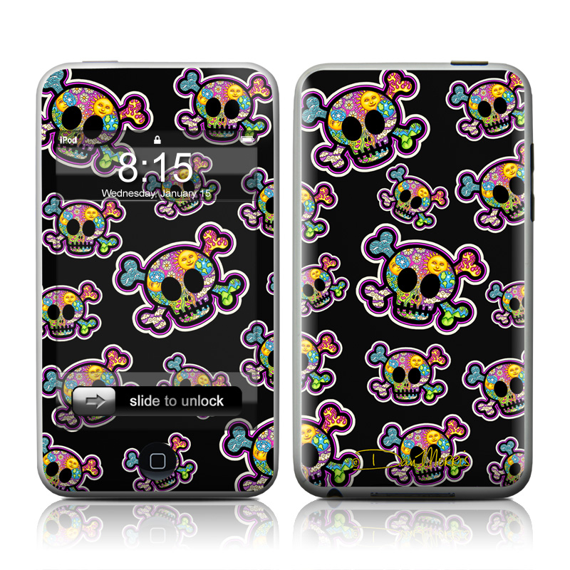 Peace Skulls iPod touch 2nd Gen or 3rd Gen Skin