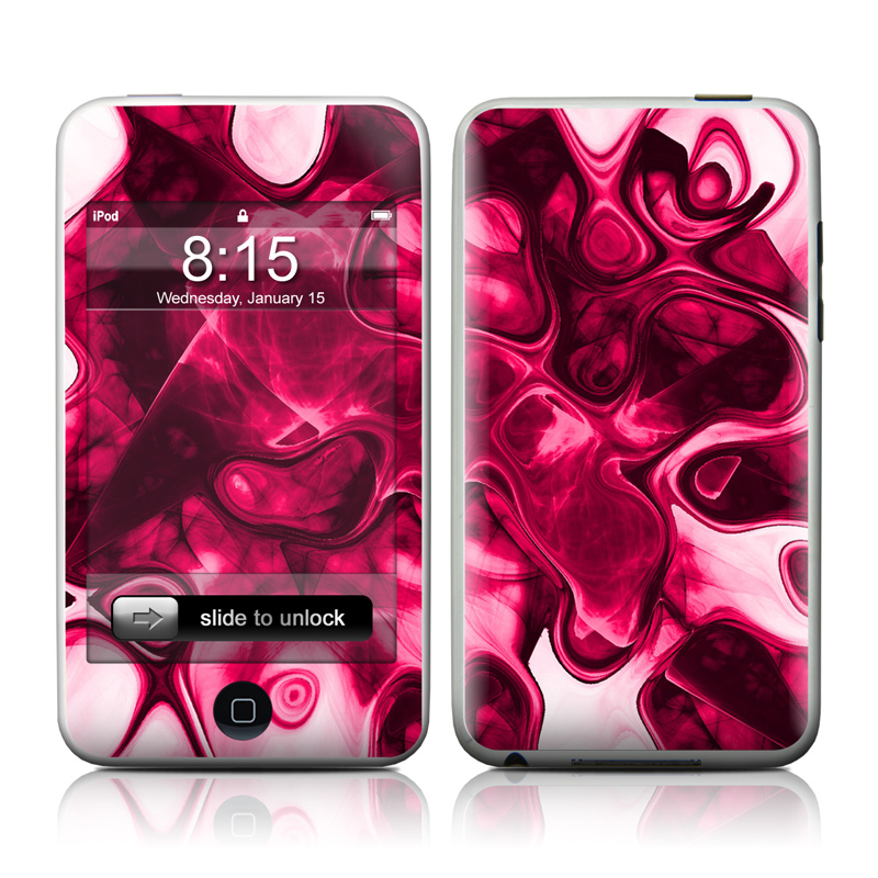 Pink Splatter iPod touch 2nd Gen or 3rd Gen Skin