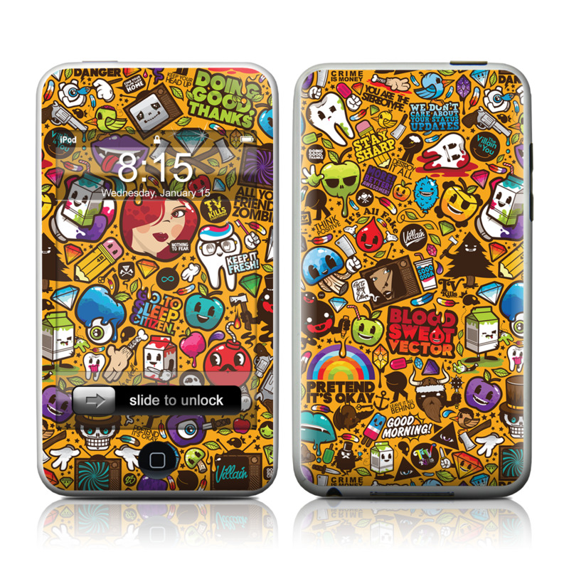 Psychedelic iPod touch 2nd Gen or 3rd Gen Skin