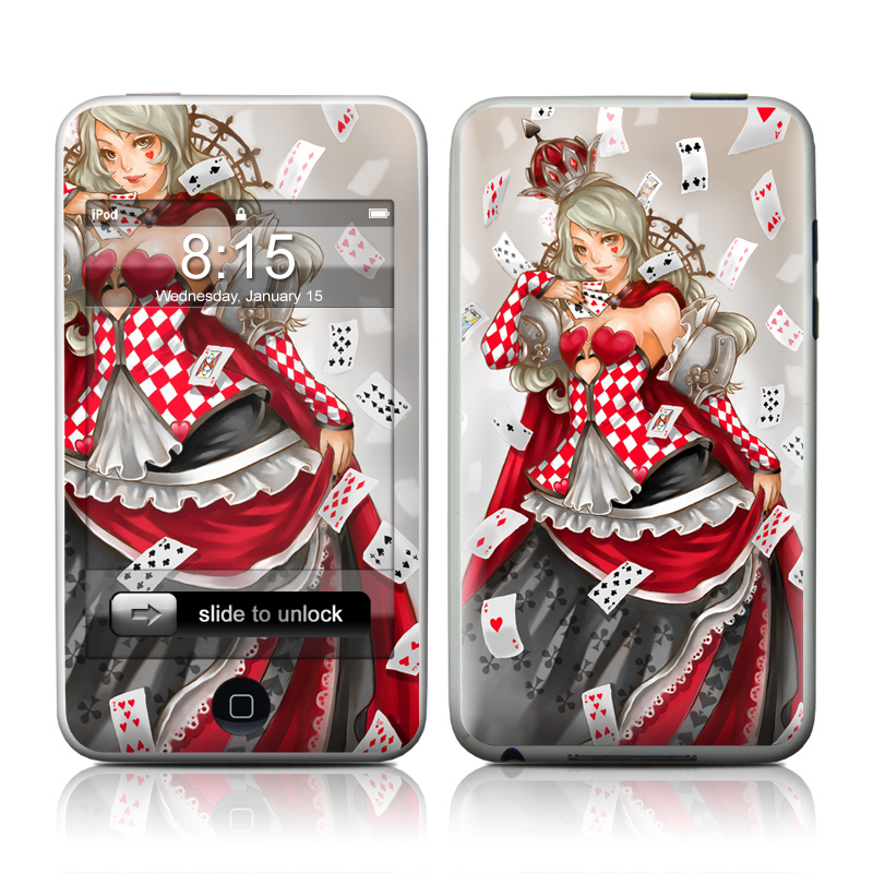 Queen Of Cards iPod touch 2nd & 3rd Gen Skin