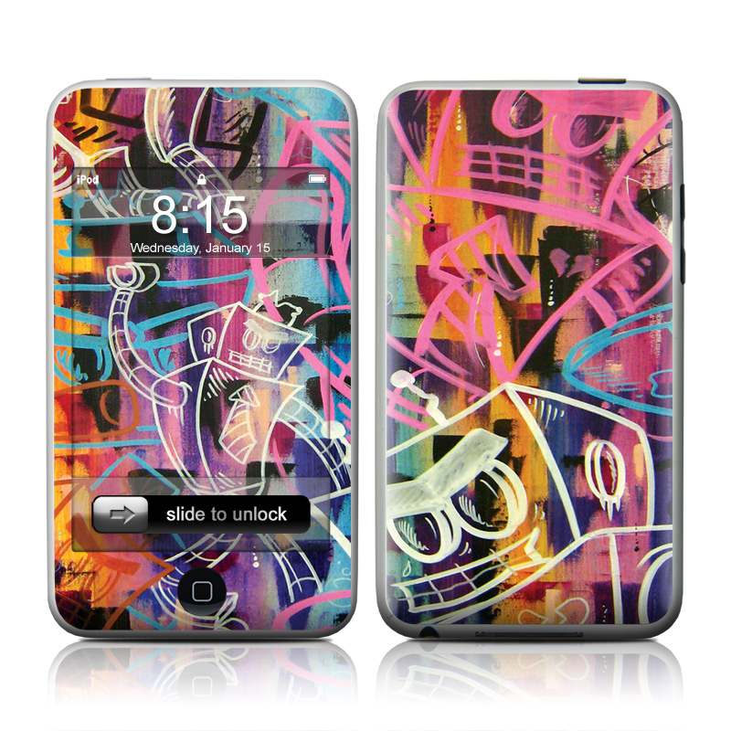 Robot Roundup iPod touch 2nd Gen or 3rd Gen Skin