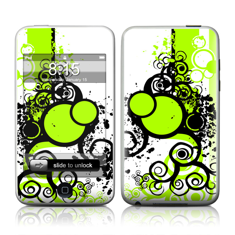Simply Green iPod touch 2nd & 3rd Gen Skin