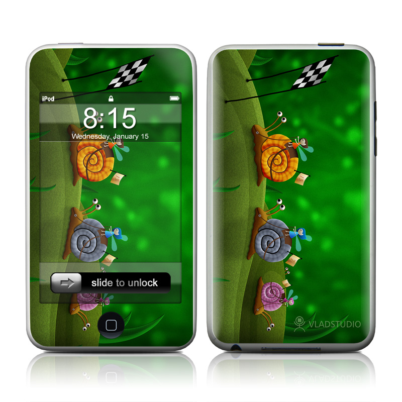 Snail Race iPod touch 2nd Gen or 3rd Gen Skin
