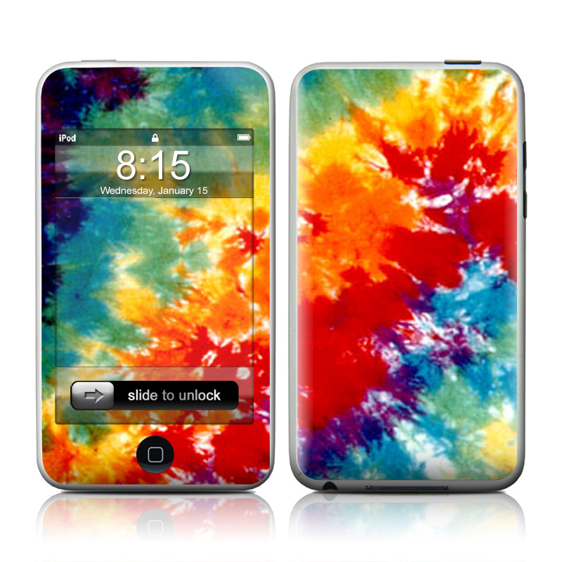 Tie Dyed iPod touch 2nd Gen or 3rd Gen Skin