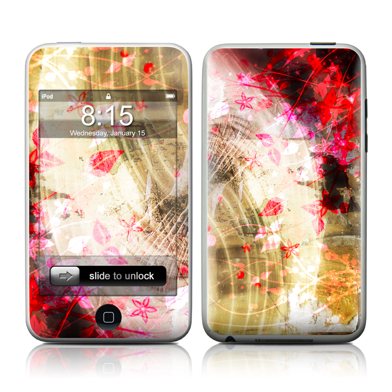 Woodflower iPod touch 2nd Gen or 3rd Gen Skin