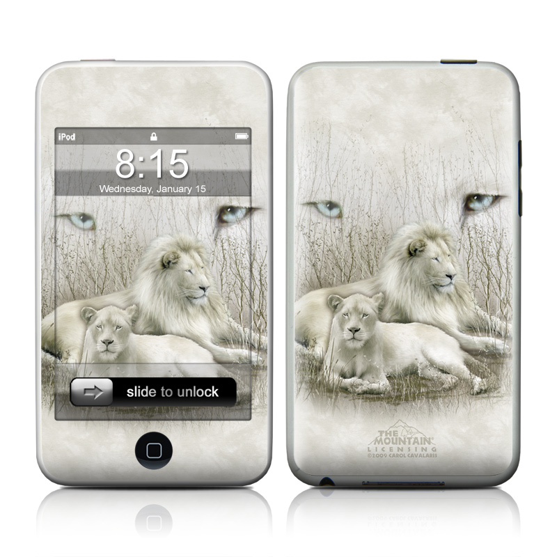White Lion iPod touch 2nd & 3rd Gen Skin