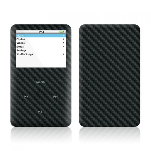 Carbon iPod Video Skin