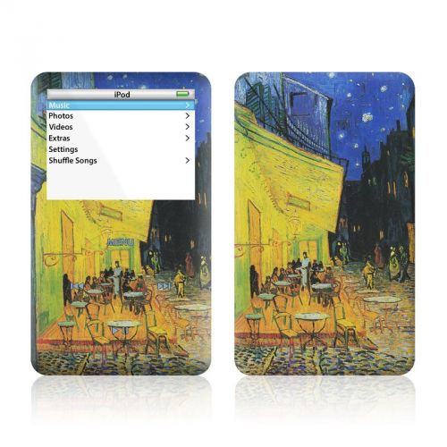 Cafe Terrace At Night iPod Video Skin