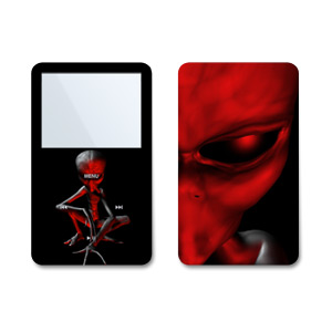 Ruby Abduction iPod Video Skin