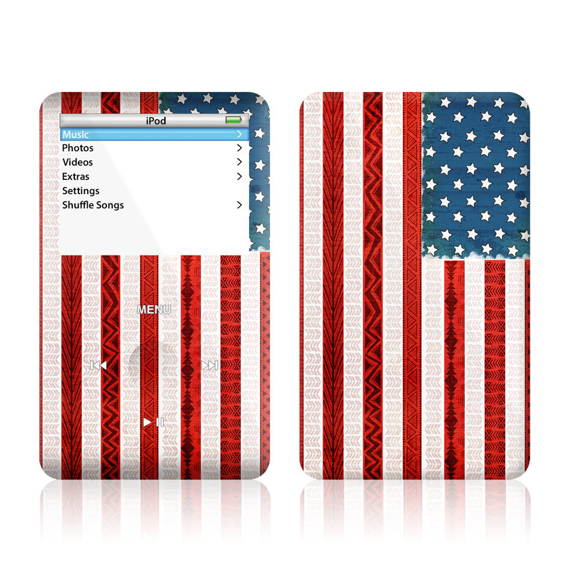 American Tribe iPod Video Skin