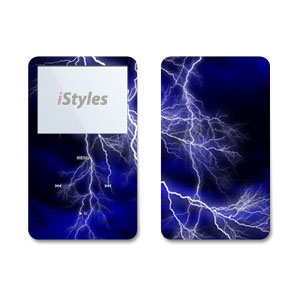Apocalypse Blue iPod Video Skin