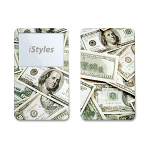 Benjamins iPod Video Skin