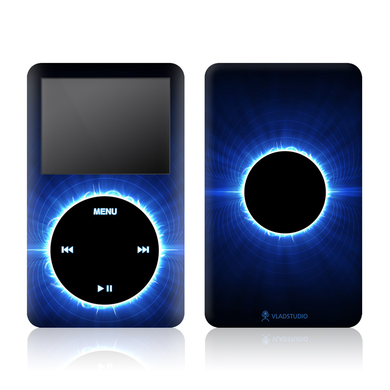 Blue Star Eclipse iPod Video Skin