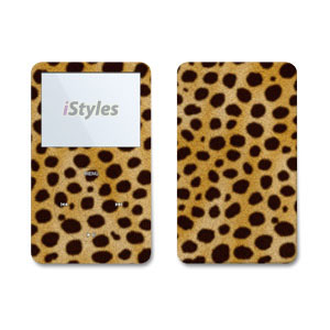 Cheetah iPod Video Skin