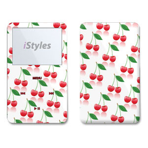 Cherry iPod Video Skin