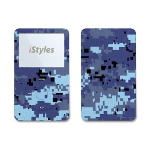 Digital Sky Camo iPod Video Skin